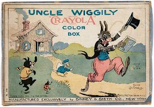 UNCLE WIGGILY CRAYOLA COLOR BOX BOXED COLORING SET