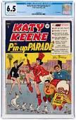 """""""KATY KEENE PIN UP PARADE"""" #1 1955 CGC 6.5 FINE+."""