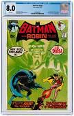 """BATMAN"" #232 JUNE 1971 CGC 8.0 VF (FIRST RA'S AL"