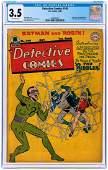 """DETECTIVE COMICS"" #140 OCTOBER 1948 CGC 3.5 VG- (FIRST"