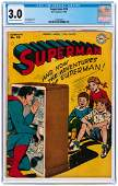 """SUPERMAN"" #39 MARCH/APRIL 1946 CGC 3.0 GOOD/VG."