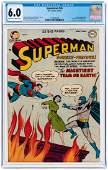 """SUPERMAN"" #76 MAY/JUNE 1952 CGC 6.0 FINE."
