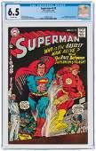 """""""SUPERMAN"""" #199 AUGUST 1967 CGC 6.5 FINE+ (FIRST"""