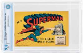 """""""WITH SUPERMAN AT THE GILBERT HALL OF SCIENCE"""" #NN 1948"""