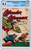 """WONDER WOMAN"" #22 MARCH - APRIL 1947 CGC 4.5 VG+."