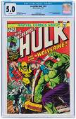 """""""INCREDIBLE HULK"""" #181 NOVEMBER 1974 CGC 5.0 VG/FINE"""