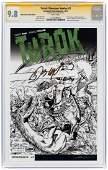 """""""TUROK: DINOSAUR HUNTER"""" #1 2014 SHARP COMICS SKETCH"""