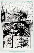 """BATMAN: THE DARK KNIGHT"" VOL. 2 #5 COMIC BOOK PAGE"