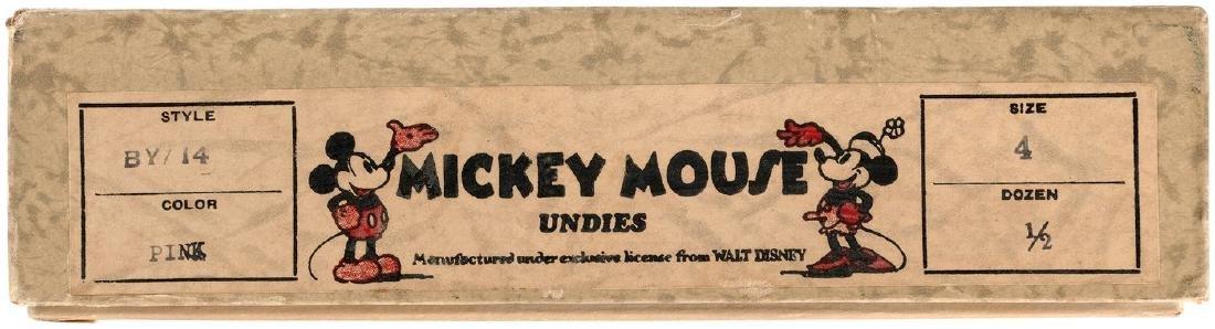 """MICKEY MOUSE UNDIES"" BOX. - 2"