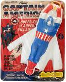 """""""FLYING CAPTAIN AMERICA"""" FACTORY-SEALED GLIDER TOY."""