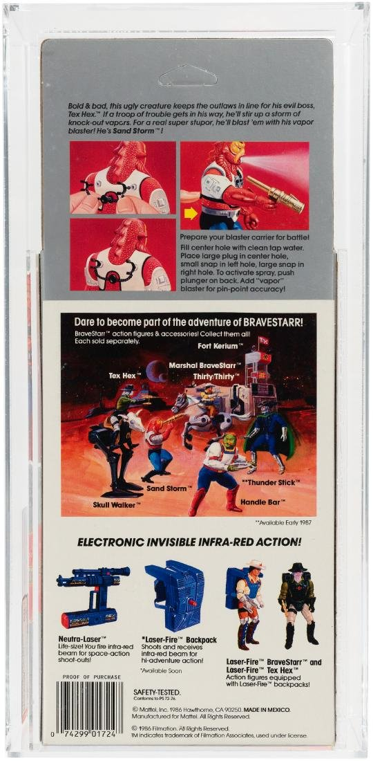 "BRAVESTARR ""TEX HEX AND SAND STORM"" AFA PAIR. - 2"