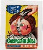 """GARBAGE PAIL KIDS 9TH SERIES"" TOPPS CAS GRADED 85 FULL"