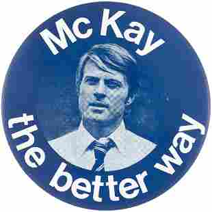 THE CANDIDATE 1972 FILM USED 4 PROP BUTTON PICTURING