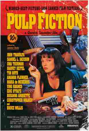 PULP FICTION ONE SHEET MOVIE POSTER