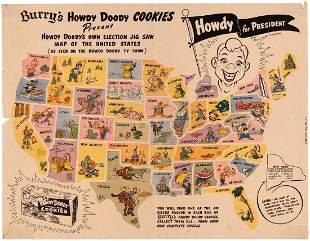 HOWDY FOR PRESIDENT BURRYS HOWDY DOODY COOKIES