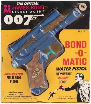 THE OFFICIAL JAMES BOND SECRET AGENT 007 BONDOMATIC