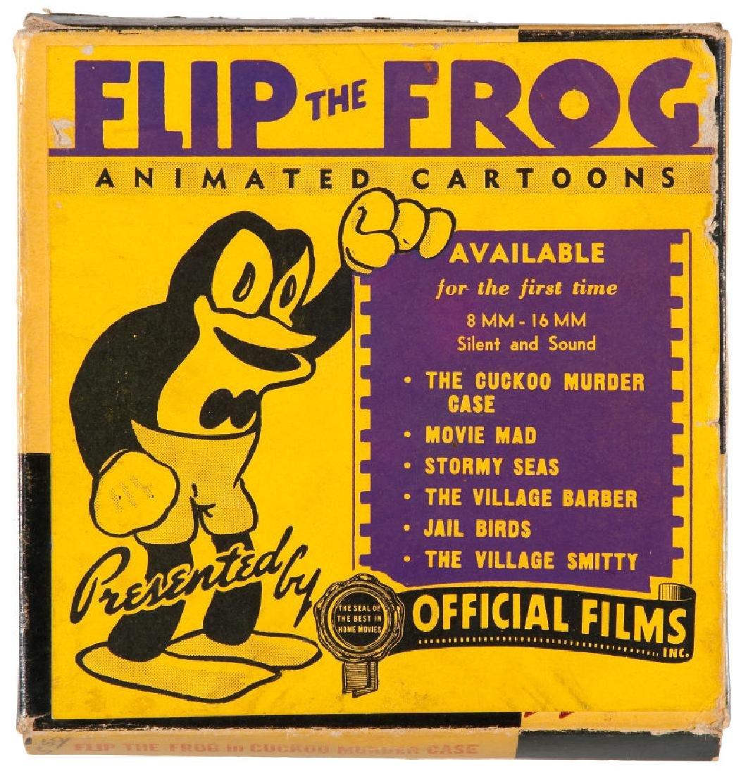 """""""FLIP THE FROG"""" BOXED FILM."""