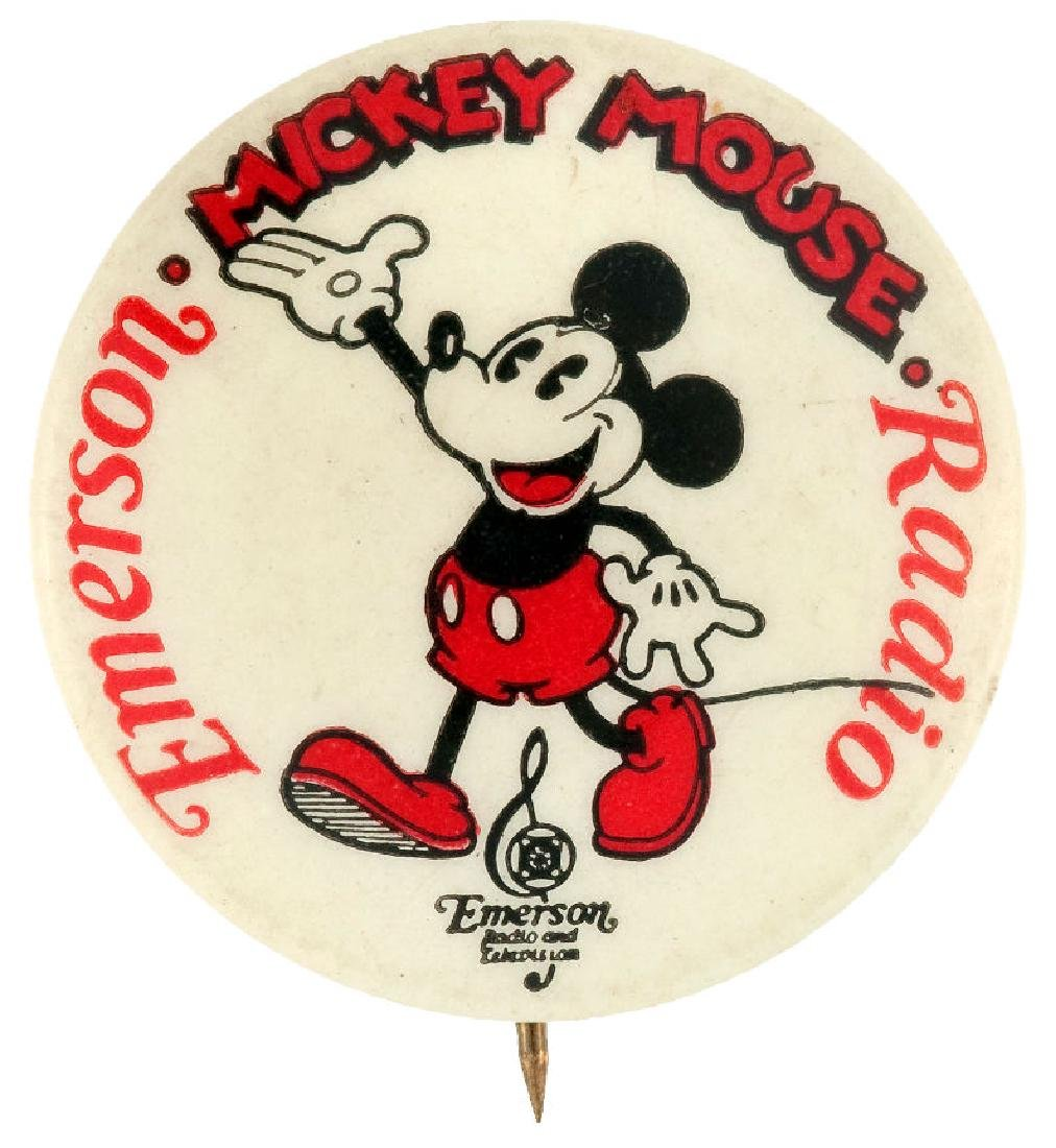 """""""MICKEY MOUSE EMERSON RADIO"""" CLASSIC 1930s PRODUCT"""