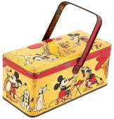 MICKEY MOUSE FRENCH TIN.