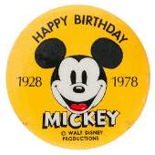 """HAPPY BIRTHDAY MICKEY 1928-1978"" SCARCE ORIGINAL ISSUE"