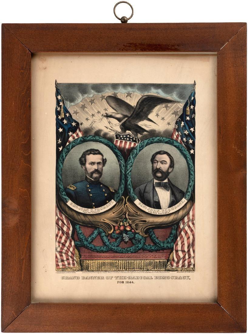 FREMONT & COCHRANE CIVIL WAR ERA 1864 GRAND NATIONAL