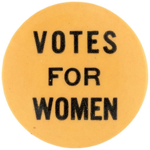 Votes For Women Suffrage Button Jul 10 2019 Hake S Auctions