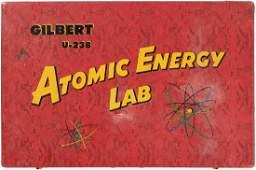 """GILBERT NUCLEAR PHYSICS NO. U-238 ATOMIC ENERGY LAB"""