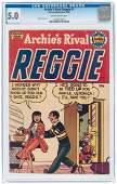"""""""ARCHIE'S RIVAL REGGIE"""" #1 1950 CGC 5.0 VG/FINE."""