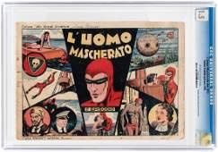 "THE PHANTOM ""L'UOMO MASCHERATO"" #NN 1945 CGC 1.5"