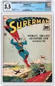 """SUPERMAN"" #7 NOVEMBER-DECEMBER 1940 CGC CONSERVED 3.5"