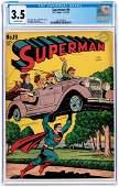 """SUPERMAN"" #19 NOVEMBER-DECEMBER 1942 CGC 3.5 VG-."