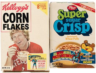 For Auction: KELLOGG'S \