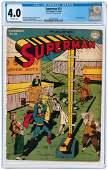 """SUPERMAN"" #31 NOVEMBER-DECEMBER 1944 CGC 4.0 VG."