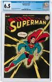 """SUPERMAN"" #32 JANUARY-FEBRUARY 1945 CGC 6.5 FINE+."