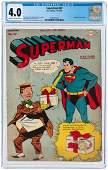"""SUPERMAN"" #37 NOVEMBER-DECEMBER 1945 CGC 4.0 VG."