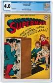 """SUPERMAN"" #39 MARCH-APRIL 1946 CGC 4.0 VG."