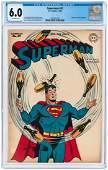 """SUPERMAN"" #47 JULY-AUGUST 1947 CGC 6.0 FINE."