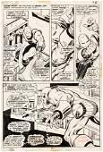 """IRON MAN"" VOL. 1 #50 COMIC BOOK PAGE ORIGINAL ART BY"