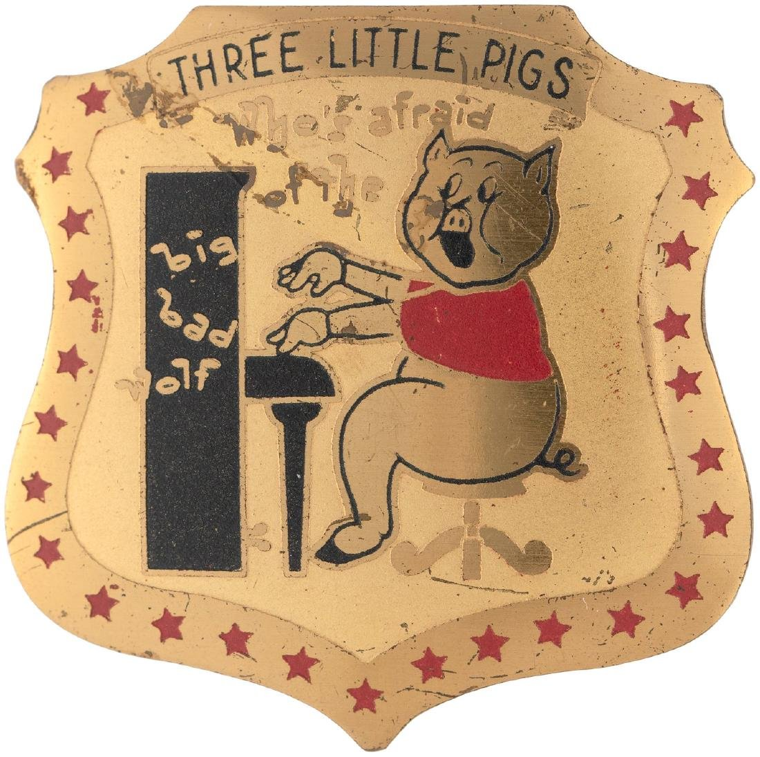 """""""THREE LITTLE PIGS - WHO'S AFRAID OF THE BIG BAD WOLF"""""""