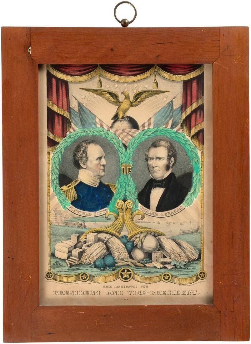 SCOTT & GRAHAM 1852 JUGATE GRAND NATIONAL BANNER BY