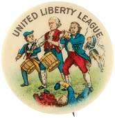 UNITED LIBERTY LEAGUE ANTI-PROHIBITION GROUP BUTTON