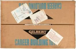 """GILBERT """"ERECTOR - THE LUNAR DRILLING RIG SET."""""""