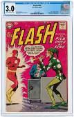 """FLASH"" #106 APRIL-MAY 1959 CGC 3.0 GOOD/VG (FIRST"