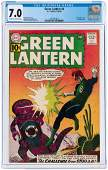 """GREEN LANTERN"" #8 SEPTEMBER-OCTOBER 1961 CGC 7.0"