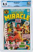 """""""MISTER MIRACLE"""" #4 SEPTEMBER-OCTOBER 1971 CGC 8.5 VF+"""