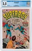 """SUPERBOY"" #68 OCTOBER 1958 CGC 2.5 GOOD+ (FIRST"