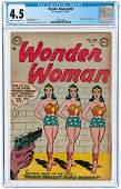 """WONDER WOMAN"" #62 NOVEMBER-DECEMBER 1953 CGC 4.5 VG+."