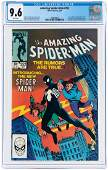 """""""AMAZING SPIDER-MAN"""" #252 MAY 1984 CGC 9.6 NM+ (FIRST"""