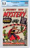 """""""JOURNEY INTO MYSTERY"""" #83 AUGUST 1962 CGC 5.5 FINE-"""