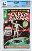 """""""SILVER SURFER"""" #1 AUGUST 1968 CGC 6.0 FINE."""